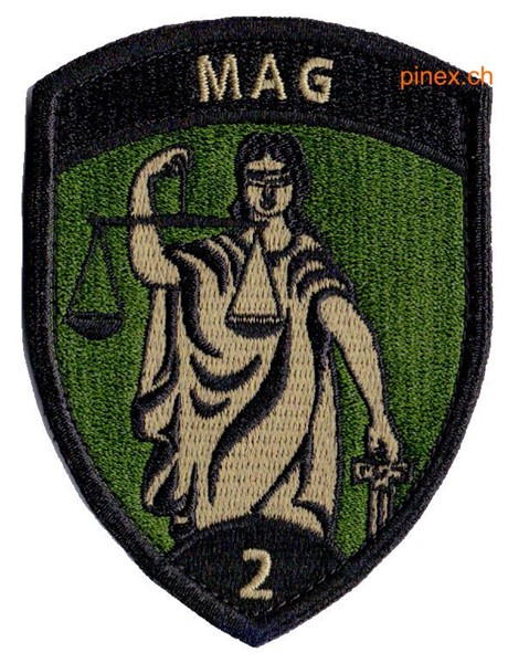 Photo de MAG 2 mit Klett Militärbadge