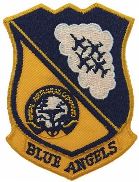 Photo de Blue Angels Naval Airtraining Command Abzeichen Patch small