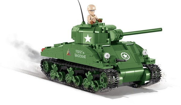 Photo de Sherman kit de construction char de combat
