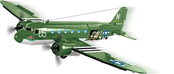 Photo de Cobi Douglas C-47 Skytrain Dakota Baustein Set 5701 WWII