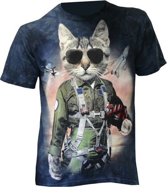 Picture of Tomcat Fun TShirt Kinder Flugzeug Shirt