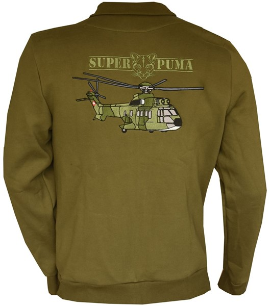 Photo de Super Puma veste sweat
