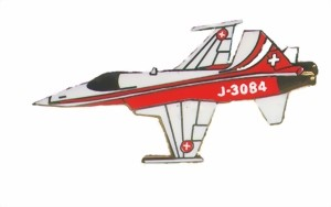 Photo de Patrouille Suisse Tiger side  38mm