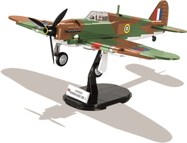Photo de Chasseur anglais Hawker Hurrican COBI 5709 kit de blocs de construction