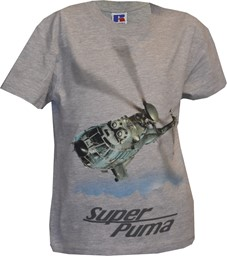 Picture of Super Puma Kinder T-Shirt grau