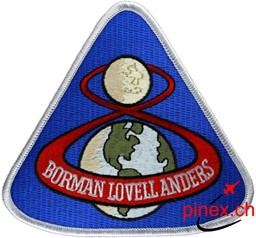 Picture of Apollo 8 Stoffaufnäher Abzeichen Patch
