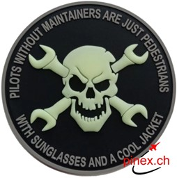 Picture of Air Force Maintenance Fun Patch PVC-Rubber