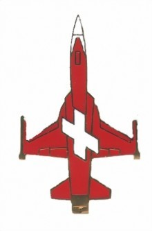Photo de Tiger F5e Patrouille Suisse bottom    38mm