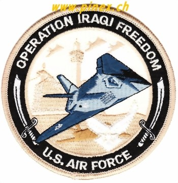 Photo de Operation Iraqi Freedom F117 Mission Abzeichen