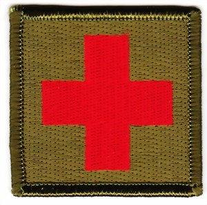 Picture of Sanitätsflagge  Sani Badge