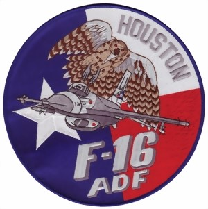 Bild von F16 Falcon ADF  Houston Large Patch