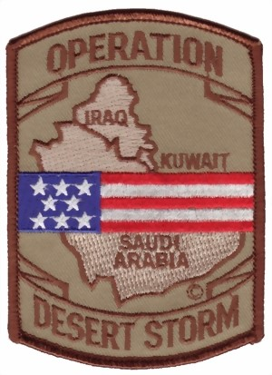 Photo de Operation Desert Storm Abzeichen