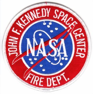 Photo de JFK Space Center Firefighter Patch Abzeichen