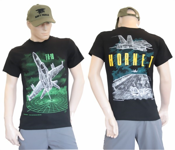 Photo de F/A-18 Hornet T-Shirt grün