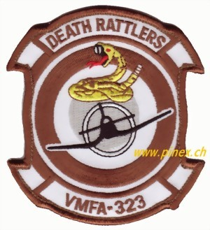 Photo de Stoffaufnäher VMFA-323 Death Rattlers