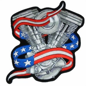 Photo de Motor Abzeichen Biker Patch