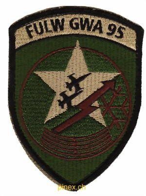 Photo de FULW GWA 95 Badge mit Klett