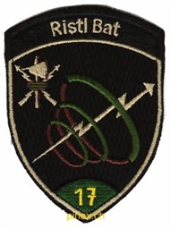 Photo de Ristl Bat 17 grün mit Klett Militärbadge