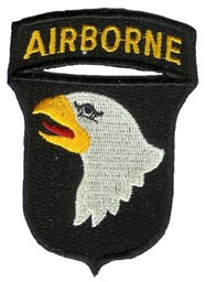 Photo de 101st Airborne Screaming Eagles Abzeichen