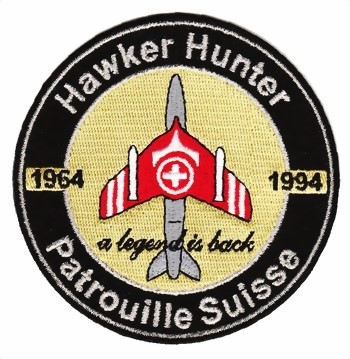 Photo de Hawker Hunter Badge Patrouille Suisse