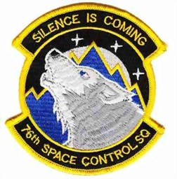 Photo de 76th Space Control Squadron Silence is Coming Abzeichen