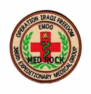 Bild von 386th Medical Group Operation Iraqi Freedom Abzeichen