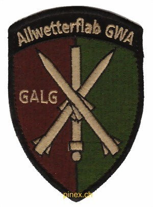 Photo de Allwetterflab GALG Badge Armeeabzeichen mit Klett