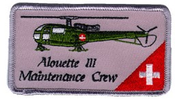 Picture of Alouette III Maintenance Crew Patch