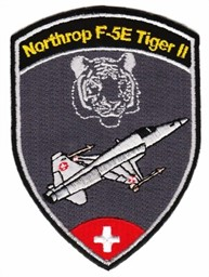 Photo de Tiger F5e Badges Forces aériennes suisses