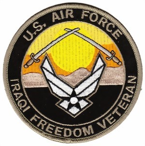 Photo de US Air Force Abzeichen Iraqi Freedom