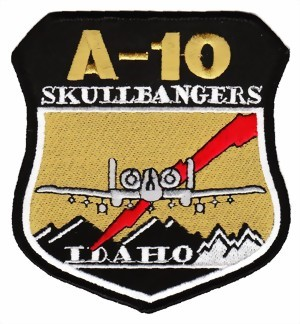 Photo de A-10 Thunderbolt Skullbangers Idaho Abzeichen