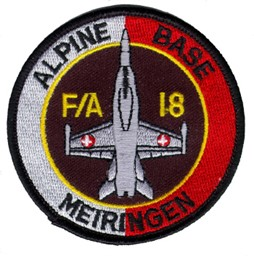 Picture of Alpine Base Meiringen Swiss Air Force Base Patch