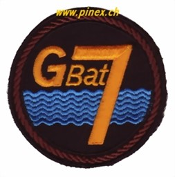 Photo de Badge troupe de génie G Bat 7 braun