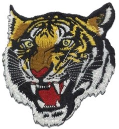 Picture of Tiger Head Patch