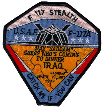Photo de F117 Stealt Fighter Mission Iraq  113mm