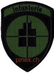 Photo de Badge d'infaterie armée suisse