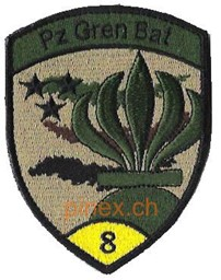 Photo de Panzer Grenadier Bat 8 gelb mit Klett
