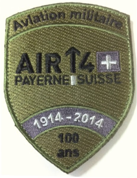 Photo de Original Air 14 Badge mit Klett