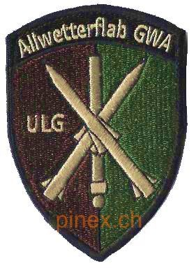 Photo de Allwetterflab GWA ULG Armee Badge mit Klett