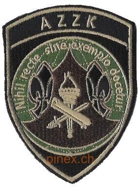 Photo de AZZK Badge mit Klett Armee 21
