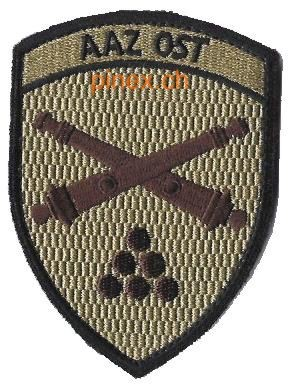 Photo de Artillerie Badge AAZ Ost mit Klett