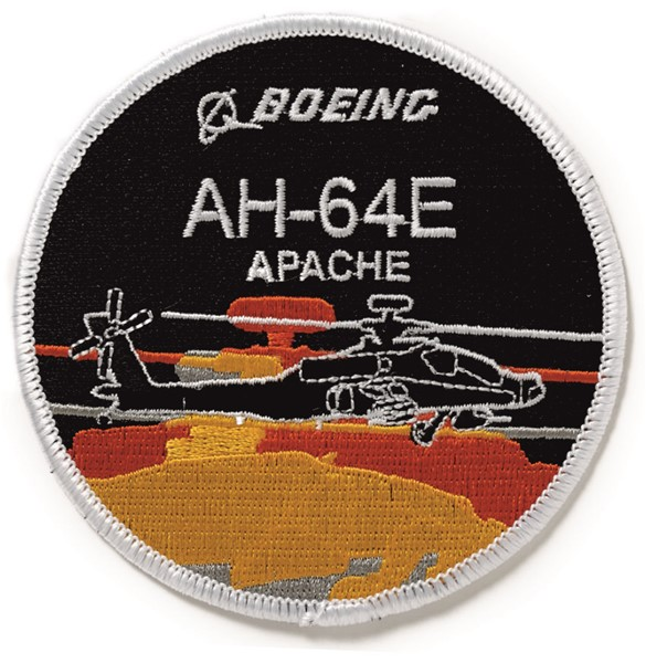 Photo de Apache AH64  Boeing Badge Abzeichen