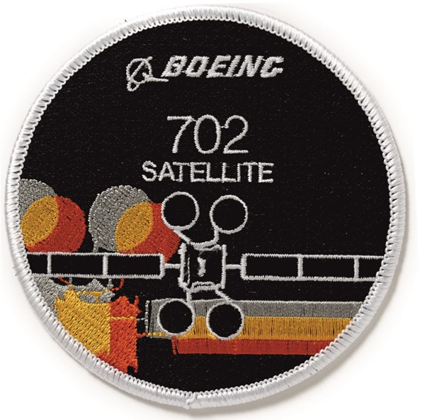 Photo de Beoing Satellite Abzeichen Satellitenprogramm Patch