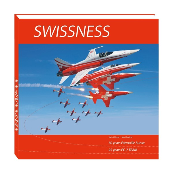 Picture of Patrouille Suisse Buch Swissness