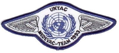 Photo de UNTAC MEDEVAC Team 1993 Cambodia