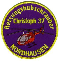 Photo de Christoph 37 Nordhausen Rettungshelikopter