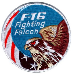 Photo de F16 Fighting Falcon Large Patch