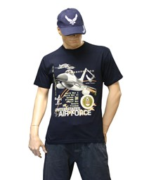 Bild von U.S. Air Force T-Shirt Navyblue