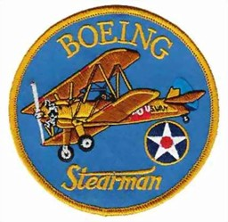Photo de Badge Patch Boeing Stearman 100mm