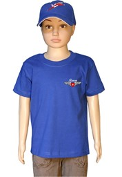 Picture of Pilot Wings Kinder T-Shirt mit Ihrem Namen